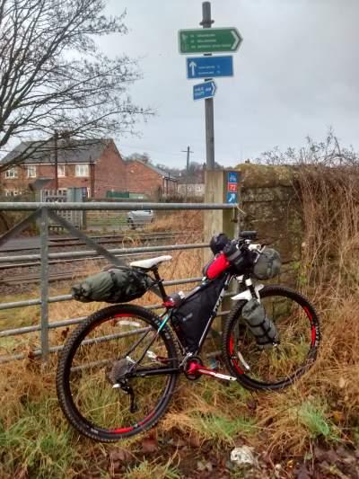 Hexham - only 120 miles to go