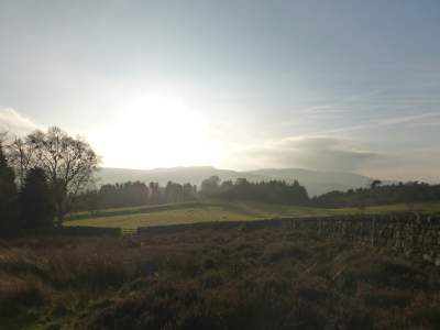 View from Rothbury Moors