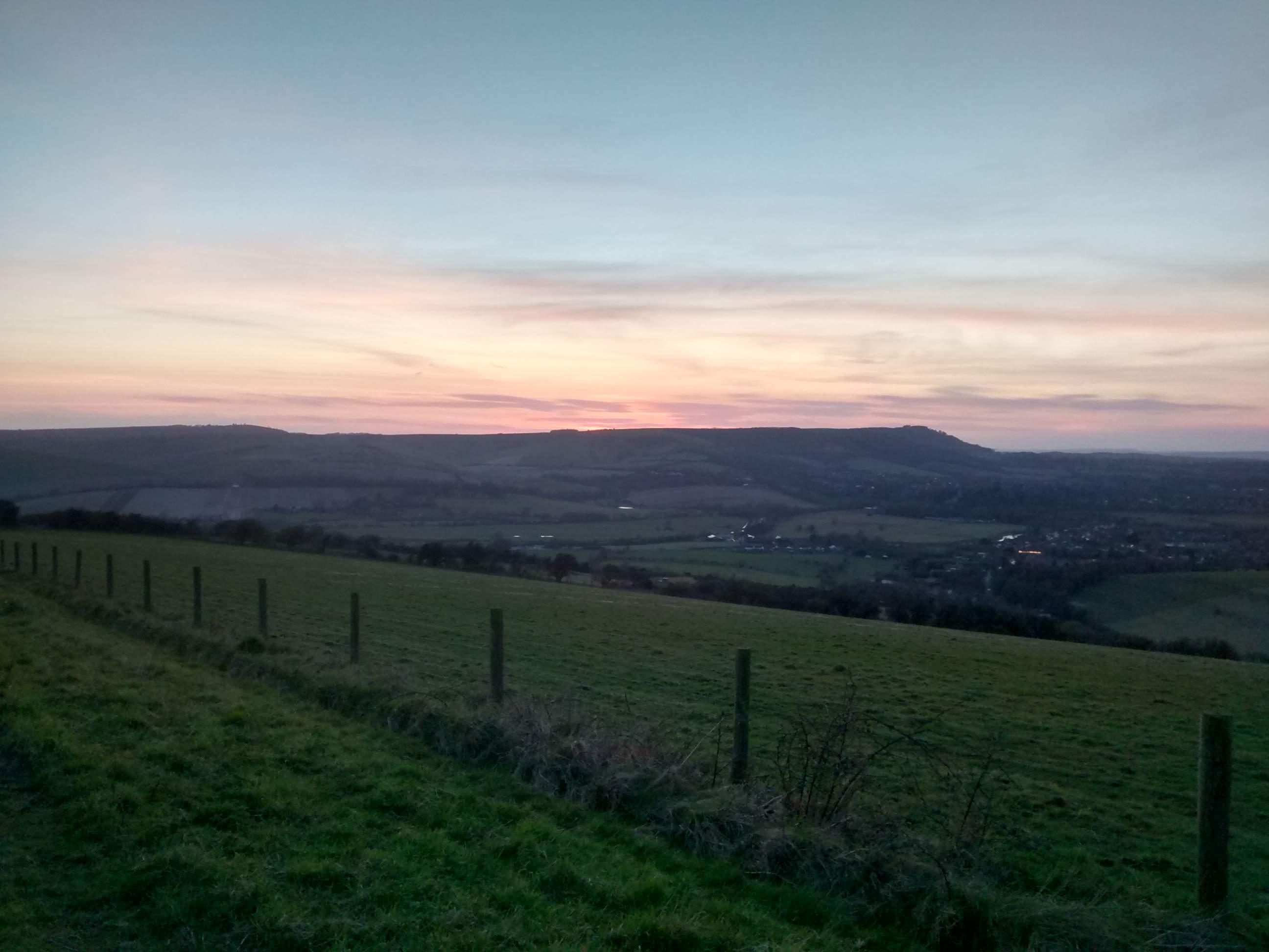 Truleigh Hill Sunset