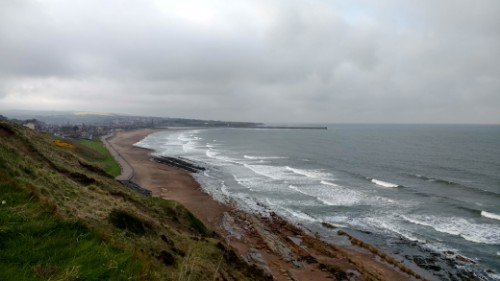 Approaching Berwick-upon-Tweed