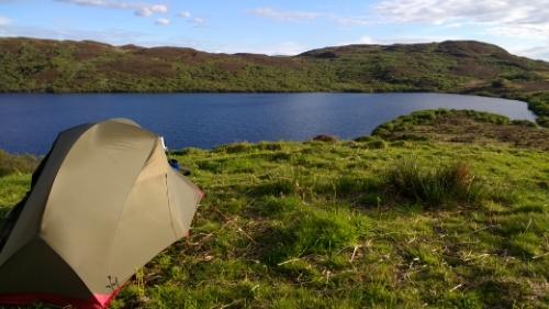 Ardnahoe loch camp spot