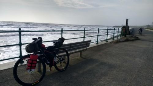 Bike at Seaburn Beach
