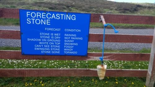 Forecasting stone