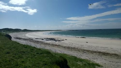 RSPB sand dunes beach