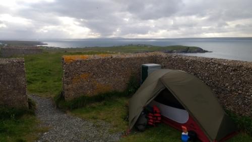 Wild camp spot