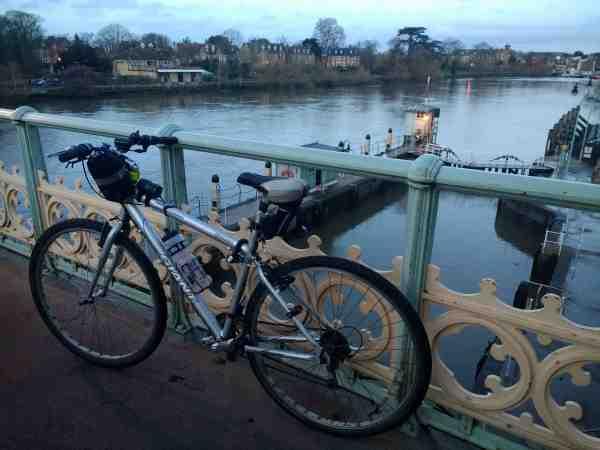 BikeOnRichmondLockBridge